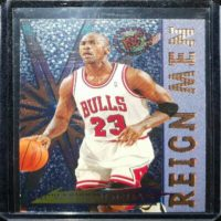 MICHAEL JORDAN 95 96 TOPPS STADIUM CLUB REIGN MEN INSERT #RM2
