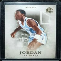 MICHAEL JORDAN 12 13 UPPER DECK SP AUTHENTIC CARD #1