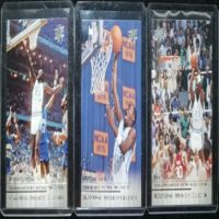 MICHAEL JORDAN 14 15 UPPER DECK MARCH MADNESS COLLECTION 3 CARD SPECIAL