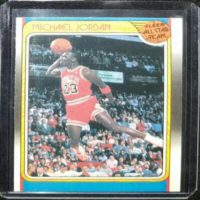 MICHAEL JORDAN 88 89 FLEER ALL-STAR INSERT #120