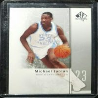MICHAEL JORDAN 2011 UPPER DECK SP AUTHENTIC CARD #1