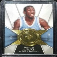 MICHAEL JORDAN 14 15 Upper Deck SPX FINITE LEGENDS INSERT #F-JO 760/799